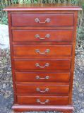 Small Mahogany Collector's Chest of Drawers